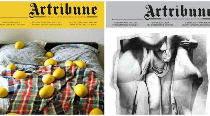 I miei articoli su Artribune
