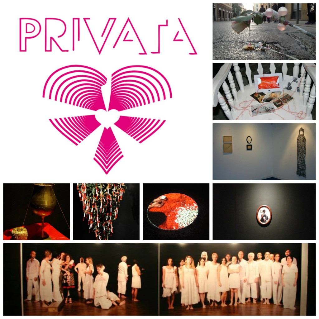 collage mostra privata ad ancona
