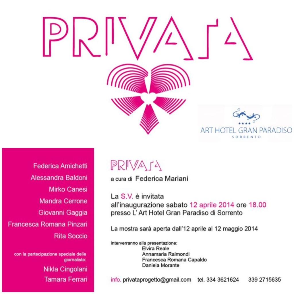 progetto PRIVATA