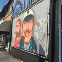 """Inaugura """"Cantiere a colori"""": street art a Civitanova Marche"""