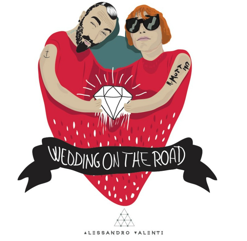 logo #weddingontheroad-alessandro-valenti