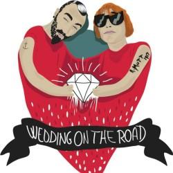 Il logo di #weddingontheroad